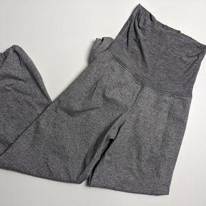 Lululemon Stillness Pants Fold Over Grey 4